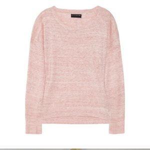 Rag & Bone Knit Pamplona Marled Linen Sweater